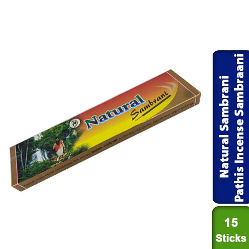Natural Sambrani Pathis Incense Sambraani 15 sticks