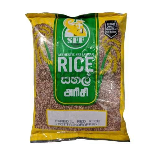 Parboiled Red Rice (Motta Karrapan)