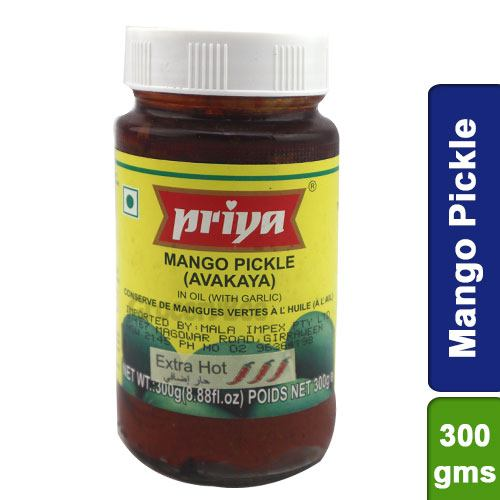 Priya Mango Pickle Avakaya